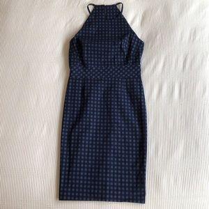 NWT Banana Republic Checkered Dress